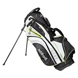 Tour Edge Womens HL3 Stand Bag in Black Silver Lime Green