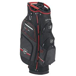 Wilson Staff Nexus III Cart Bag, Black/Red