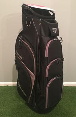 Wilson Staff Xtra Cart Bag, Black/Grey