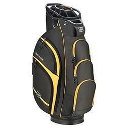 Wilson Staff Xtra Cart Bag, Black/Yellow