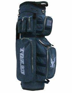 Hot-Z Golf Active Duty Cart Bag Navy
