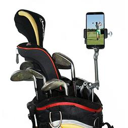 Golf Gadgets | Adjustable Bag Clamp Setup - Video Recording