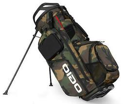 Ogio Alpha Convoy 514 Stand Bag Golf Carry Bag Woodland Camo