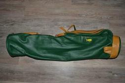 Augusta National Golf Club Masters Mackenzie Leather Golf Ba