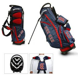 Authentic MLB Team Golf Boston Red Sox Stand Golf Bag  NEW I