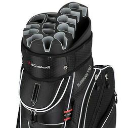 Founders Premium Cart Bag 14 Way Organizer Divider Top Black