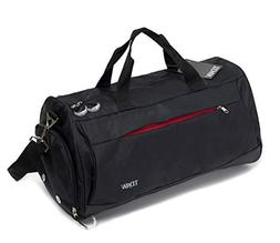 Sports Bag, Gym Bag, Duffle Bag with Shoe Compartment for G
