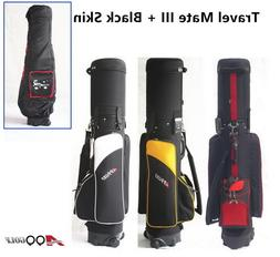 A99Golf Bag Travel Mate III Hybrid Carry On Travel Cover whe