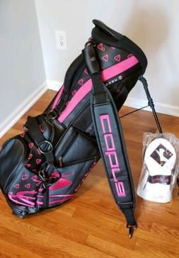 Bethpage Black Warning Cobra Puma Golf Vessel Stand Bag Rick