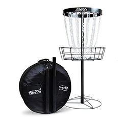 MVP Disc Sports Black Hole Pro 24 Chain Disc Golf Basket wit