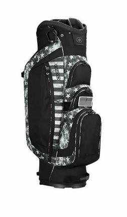 OGIO Black Ops Shredder Cart Bag, 15-Way Club Management, Go