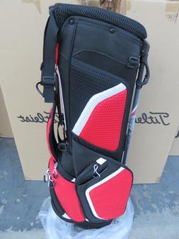 Titleist BLACK RED WHITE TB5SS1AC 061 Bag 3 Way Ultra Light