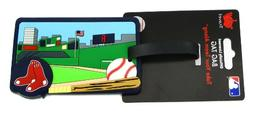 Boston Red Sox Luggage Tag Team Color