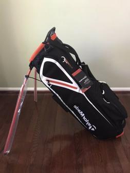 Brand New 2019 TaylorMade Flextech Lite Stand Golf Bag Black