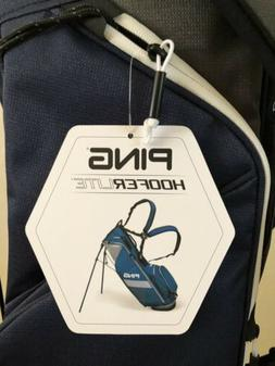 Brand New! PING Hoofer Lite Stand Bag Navy Custom Thunderbir