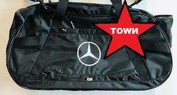 Brand New w/Tags Puma Mercedes Benz Bag Duffel Black Duffle
