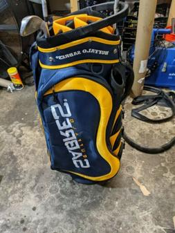 Buffalo Sabres Fairway Stand Golf Bag - Navy Blue