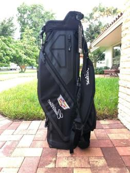 """Titleist Players 4 Stand Golf Bag Black With Rain Cover """"C"""