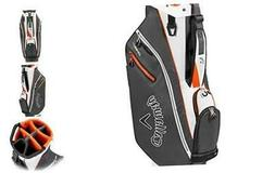 Callaway Golf 2020 ORG 7 Cart Bag Charcoal/White/Orange