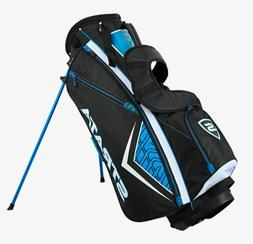 Callaway Strata Men's Carry Stand Golf Bag Black/Blue 7-Way