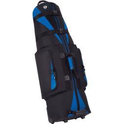 Golf Travel Bags Unisex Caravan 3.0 Bag, Black with Blue Tri
