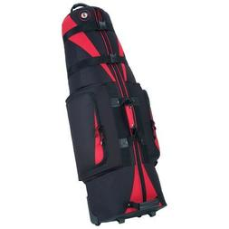 Golf Travel Bags Unisex Caravan 3.0 Bag, Black with Red Trim