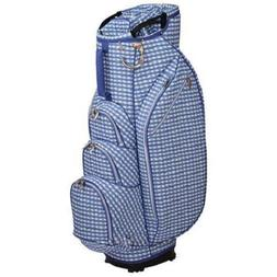 OUUL Checkwave Ladies 14 Way Cart Bag Blue