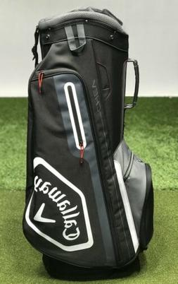 Callaway Chev 2019 Cart Golf 14-Way Bag Black/Titanium w/ Ra