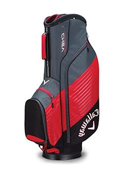 Callaway Golf Chev Cart Bag Golf Bag Cart 2017 Chev Black/Re