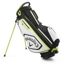 Callaway Chev Stand Golf Bag 2020 - Black/Floral Yellow