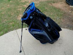 Bag Boy Chiller Hybrid Stand Cart Golf Bag 14 Divider Black/
