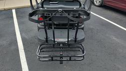 EZ-GO Golf Bag rear hitch holder 2 bag carrier for your golf