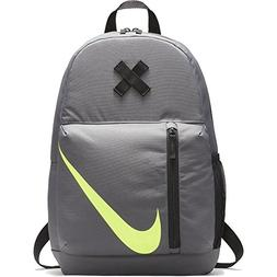 Nike Boy's Dark Grey / Black / Volt Elemental  Backpack