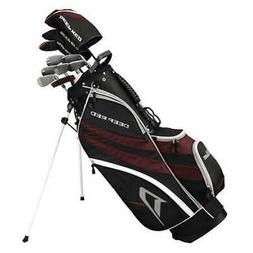 Wilson Deep Red Tour Golf Clubs Set and Golf Bag