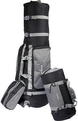 Samsonite Deluxe 3 Piece Outdoor Golf Bag Soft Travel Set Pr