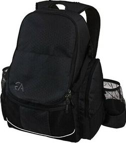Disc Golf Bag Outdoor Deluxe Frisbee Backpack Gray Holds 21+