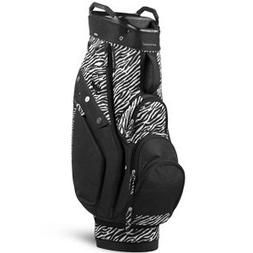 Sun Mountain Women's Diva Cart Golf Bag, Black Zebra