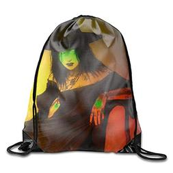 Fibpaecei Drawstring Backpack Gym Bag for Adults Teens Dark