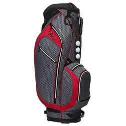 OGIO Duchess Cart Bag, Black Polka Dot/Reef
