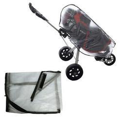 Durable PVC Golf Cart Bag Rain Cover Protector Raincoat Acce