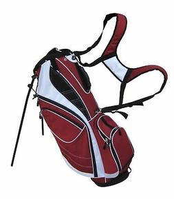Precise Edge Lightweight 8-Way Divider Golf Stand Bag w/ Hoo