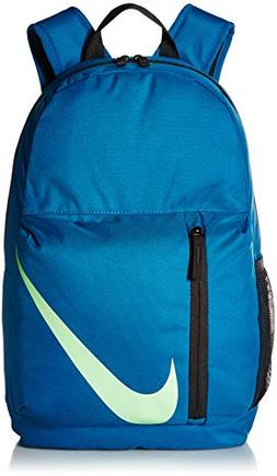 NIKE Kids' Elemental Backpack, Green Abyss/Black/Barely Volt
