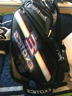 Tour Edge Exotics CBX 119 Black  4-Way Divided Golf Staff Ca