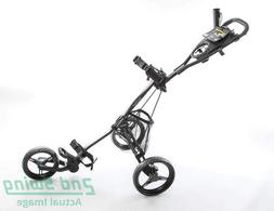 Bag Boy Express DLX Pro Push and Pull Cart Silver Black MSRP