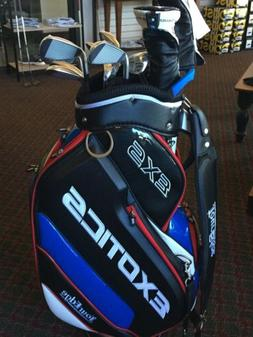Tour Edge EXS Exotics Complete Golf Set With Staff Bag