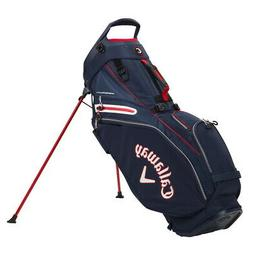 Callaway Fairway 14 Stand Golf Bag - Navy/White/Red - New 20