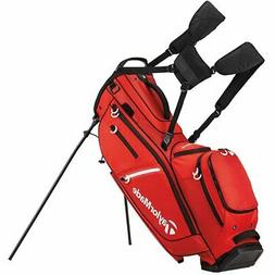 TaylorMade FlexTech Crossover Golf Stand Bag Red New 2017