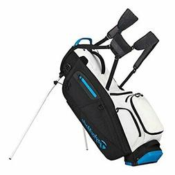 TaylorMade FlexTech Stand Bag Golf White/Black/Blue- New 201