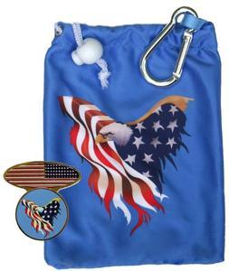 Freedom Patriotic Microfiber Tee Bag with Matching Tees, USA