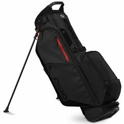 Ogio Fuse 4 Stand Golf Bag New 2020 - Black Stealth